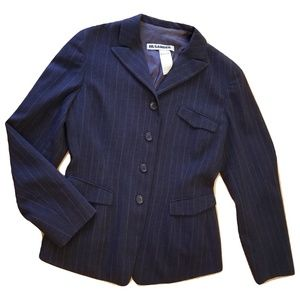 1990s Jil Sander Oversized Vintage Wool Blazer